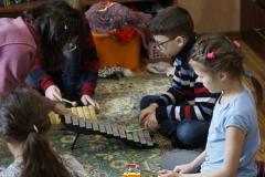 Музыкальные занятия с Оксаной Носовой